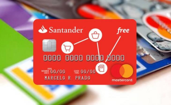 Como ser aprovado no cartão Santander Free sem anuidade