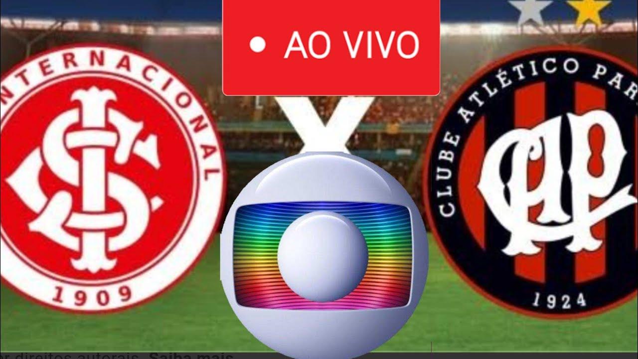 Internacional e Athletico Paranaense decidem a Copa do Brasil 2019 na tela da Globo. (Foto: Reprodução)