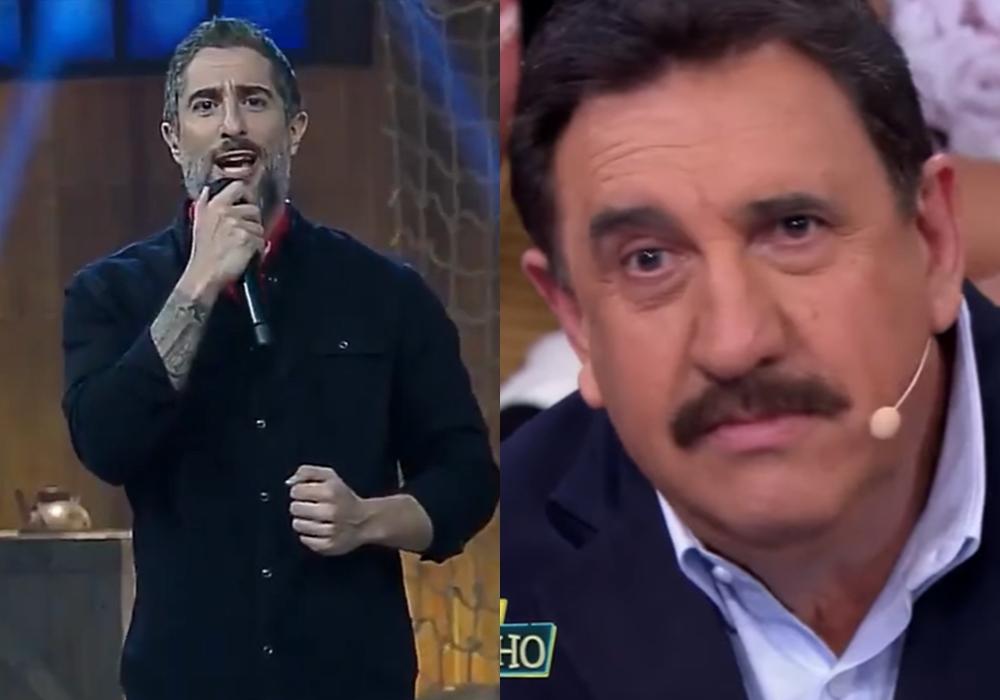 Marcos Mion, no comando do reality show A Fazenda 11, venceu o Programa do Ratinho, do SBT. (Foto: Reprodução)