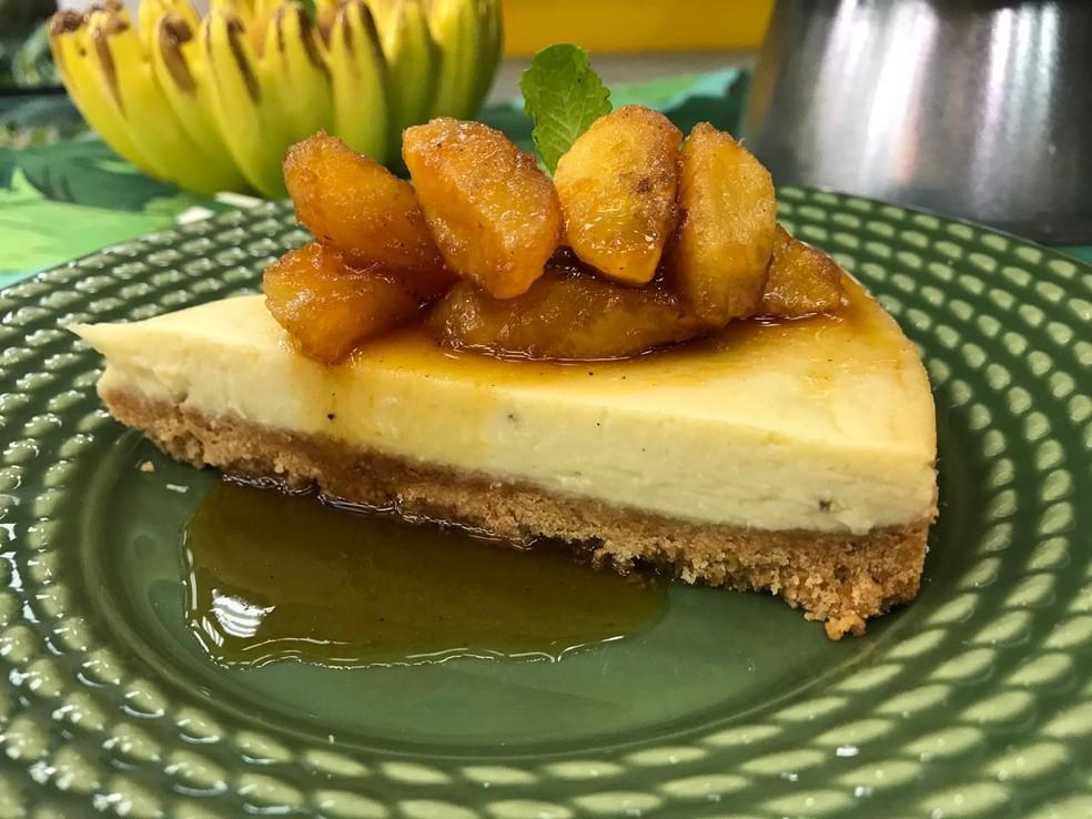 Cheesecake de Banana