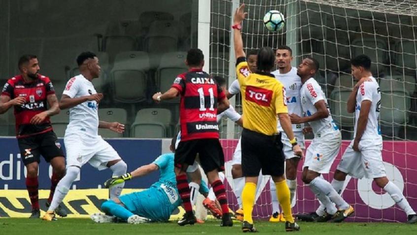 Santos x Atlético-GO