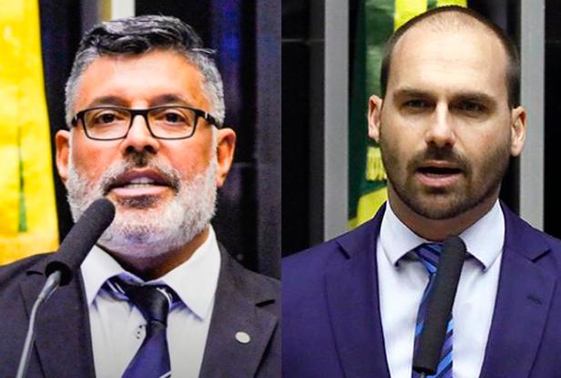 Alexandre Frota e Eduardo Bolsonaro