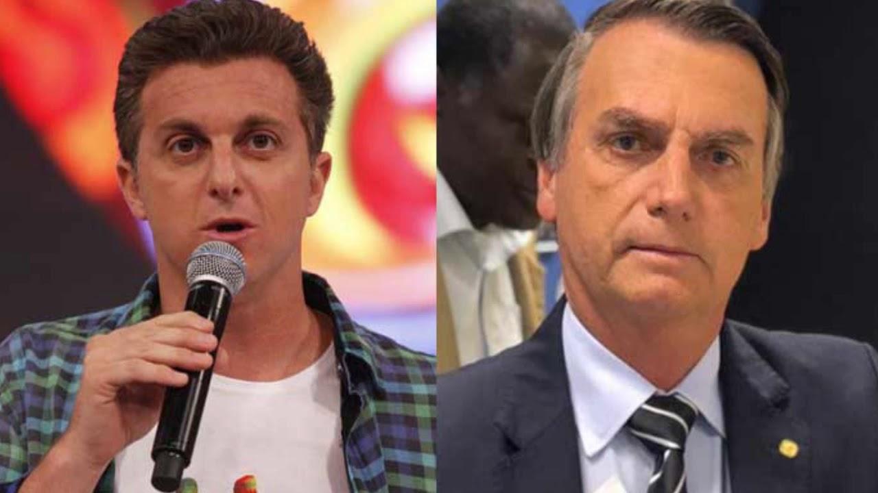 Luciano Huck e Bolsonaro