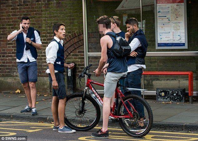 Ladrão de bicicleta é pego após passar no mesmo local onde a roubou