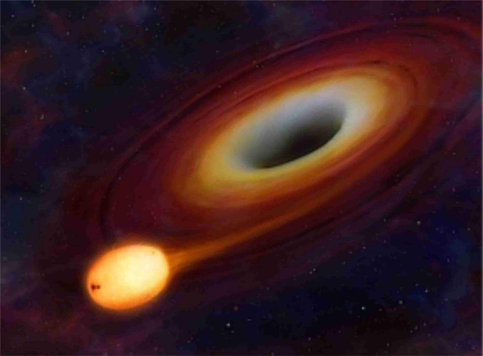 Cientistas encontram buraco negro enorme em galáxia anã