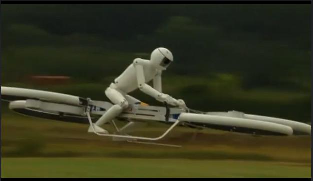 Aeromoto: Engenheiros apresentam a moto voadora