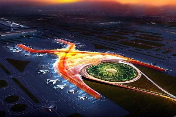 """Novo aeroporto da Cidade do México têm """"Simbolismo Illuminati"""", afirma site"""