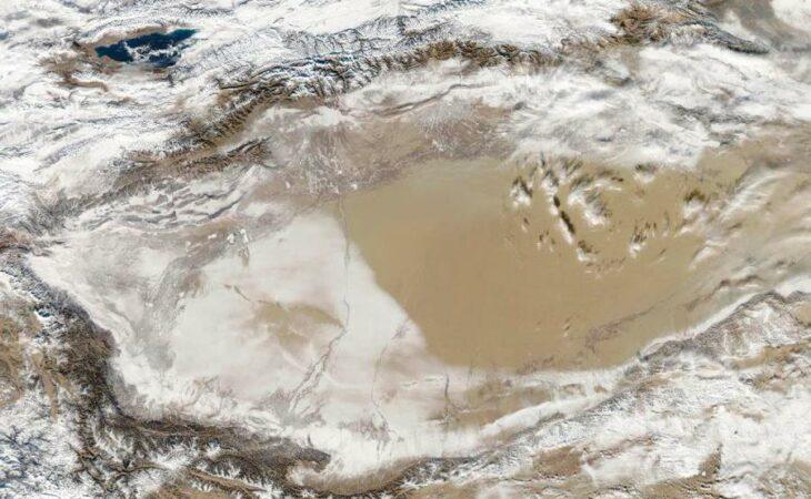 Conheça o incrível deserto que fica coberto de neve
