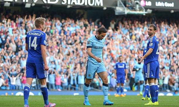 Torcedor do Chelsea morre após gol de Lampard pelo Manchester City