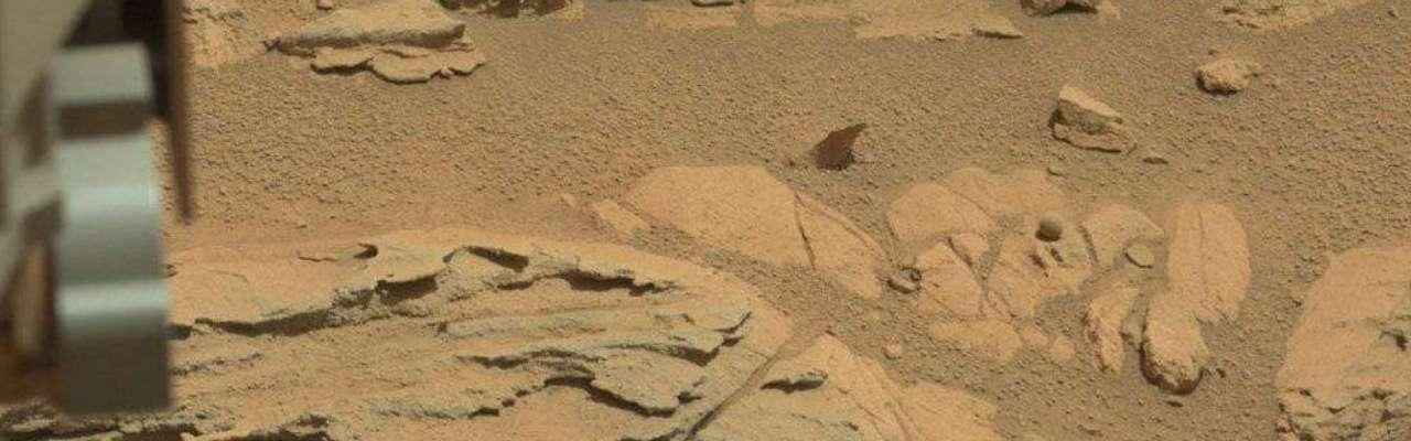 Sonda da Nasa encontra suposta 'bola' em Marte