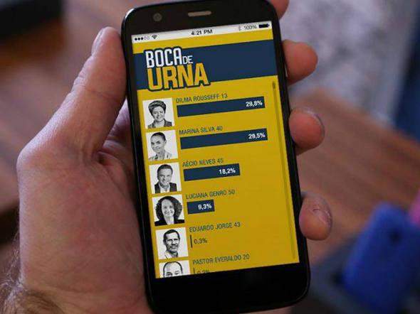 """Aplicativo """"Boca de Urna"""" realiza pesquisa de intenção de voto, confira!"""