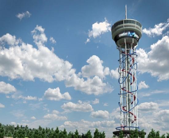 """""""Polercoaster"""", conheça a montanha-russa mais alta do mundo com 158 metros"""