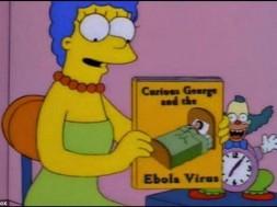 Os Simpsons Ebola