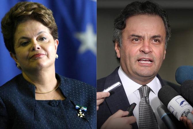 Pesquisa CNT/MDA aponta empate técnico entre Aécio e Dilma