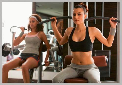 Como ter músculos levantando menos peso