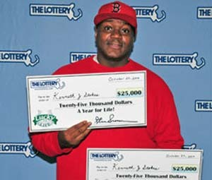 Americano ganha dois prêmios de uma só vez na loteria
