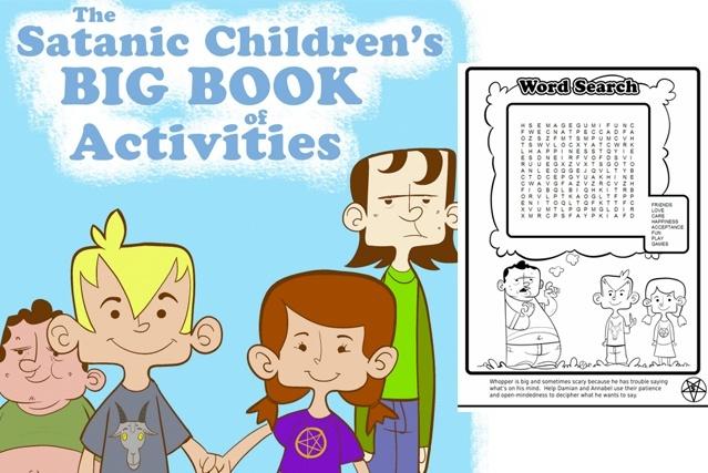 """Nos EUA, crianças podem examinar materiais """"educativos"""" satânicos em escola"""