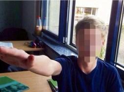 saudação Nazista em escola