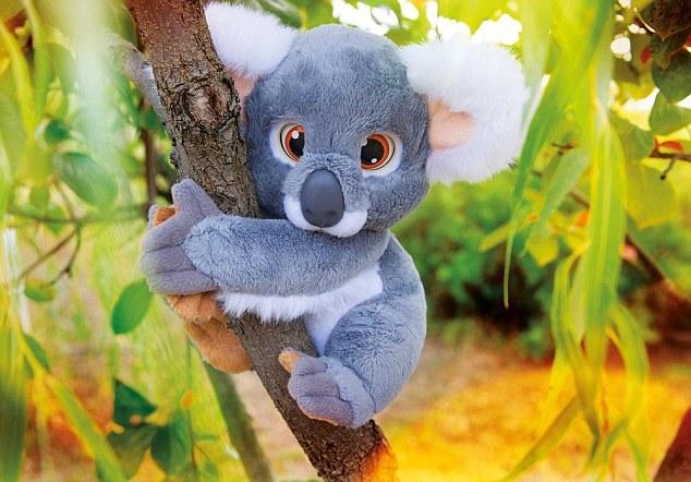 Mãe compra coala de pelúcia para filha e fica abalada ao perceber que ele xinga