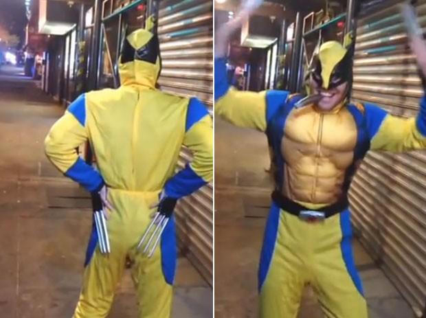 """""""Wolverine"""" se torna sucesso no Youtube após dançar música da cantora Beyoncé"""