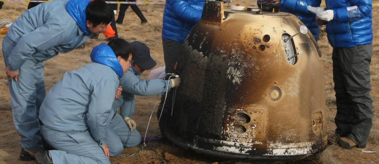 Missão de sonda espacial chinesa foi bem-sucedida e retornou para a Terra