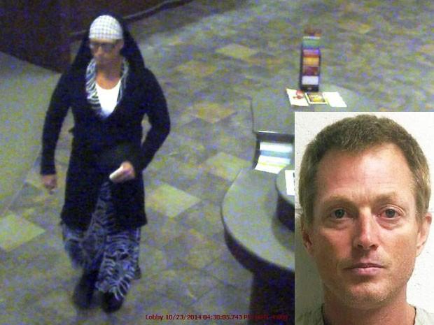 Homem rouba banco com vestido de estampa de zebra nos EUA