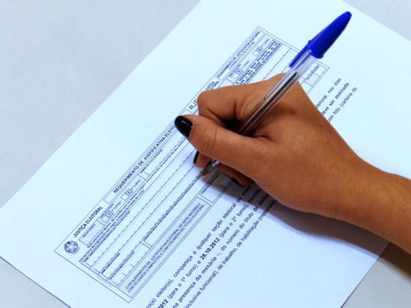Eleitor tem até quinta-feira (4) para justificar ausência no primeiro turno