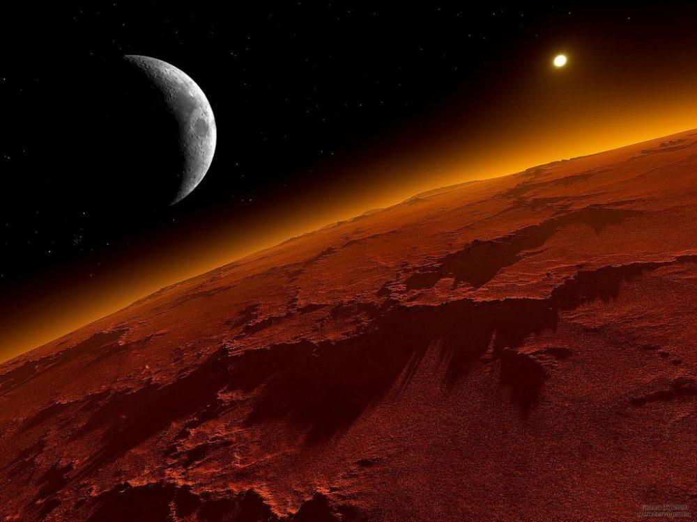 Obama anuncia missão tripulada dos EUA para Marte em 2030