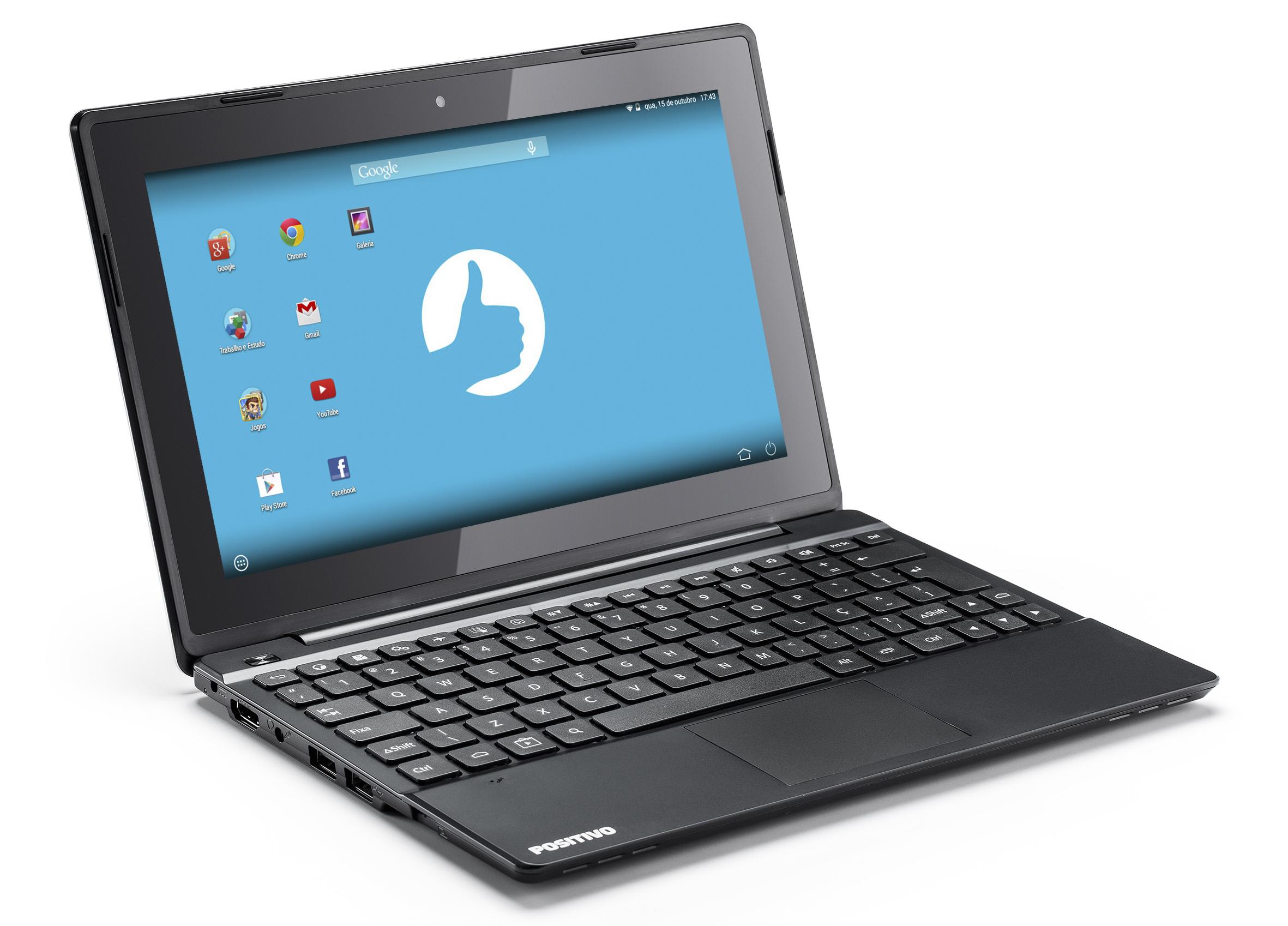 Positivo Informática lança o mais novo notebook com sistema Android