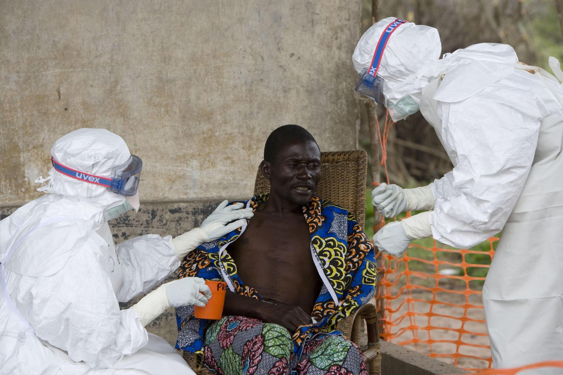 Vírus do ebola ainda continua se disseminando
