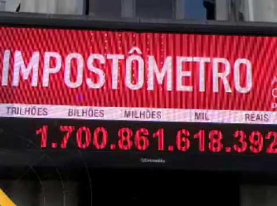 Impostômetro atinge R$ 1,8 trilhão e bate recorde, informa associação
