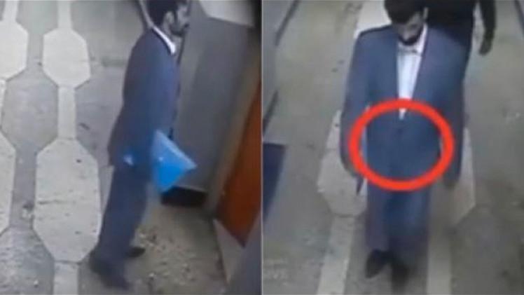 Vídeo mostra homem-bomba explodindo estação de polícia em Cabul