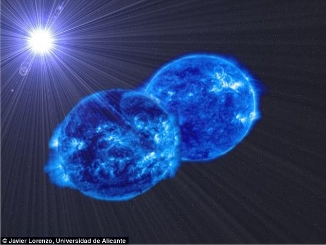 Astrônomos detectam dois corpos estelares que irão se fundir para criar uma estrela supermassiva