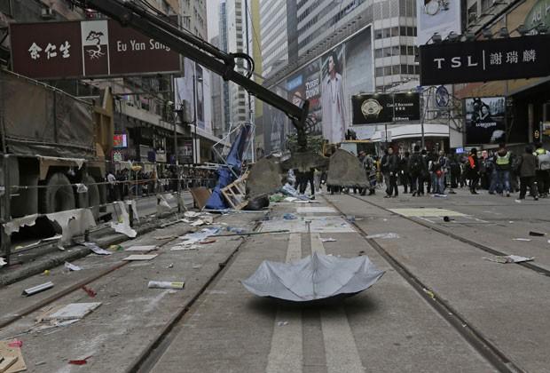 Governo declara fim de protestos em Hong Kong