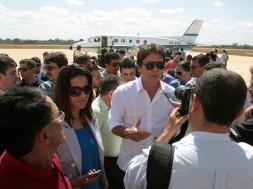 Chegada ao Aeroporto de Mossoró