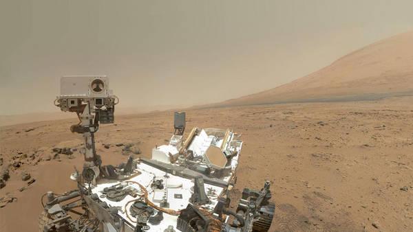 Curiosity muda rota para não contaminar água em Marte