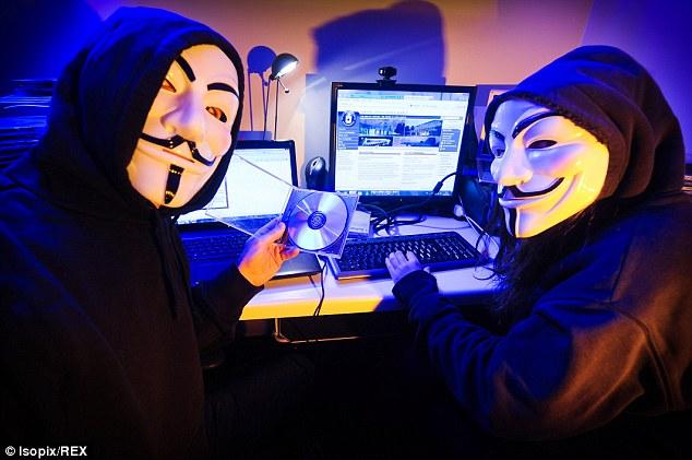 Anonymous declaram guerra contra os jihadistas após massacre no Charlie Hebdo