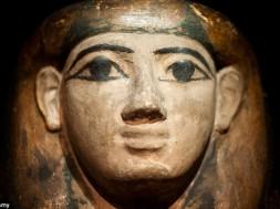máscara de múmia
