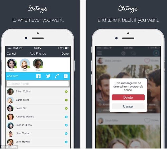 Aplicativo permite apagar mensagem antes que o destinatário leia