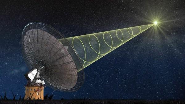 Astrônomos detectam grande explosão de ondas de rádio vindas do espaço