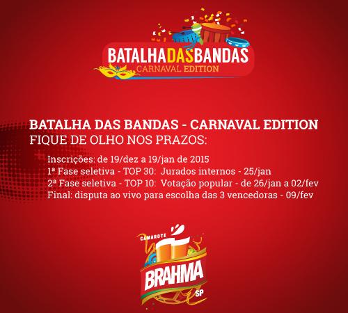BUZZSHOW abre segundo concurso de bandas para o Carnaval de São Paulo