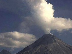 VID: Horse-Shaped UFO Spotted By Erupting Volcano