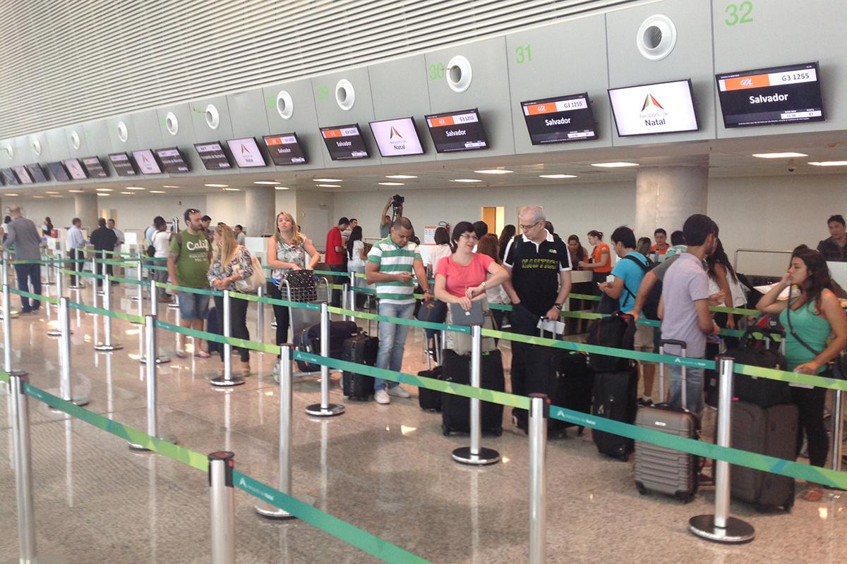Aeroporto Internacional de Natal é eleito um dos melhores do Brasil
