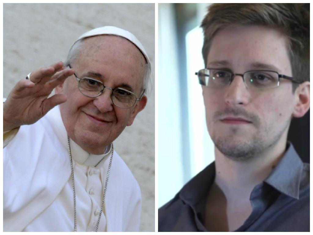Papa Francisco e Edward Snowden estão entre os indicados ao Prêmio Nobel da Paz