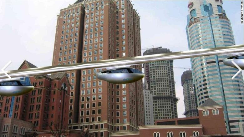 SkyTran: Sistema de veículos a levitação magnética começa a ser testado em Israel