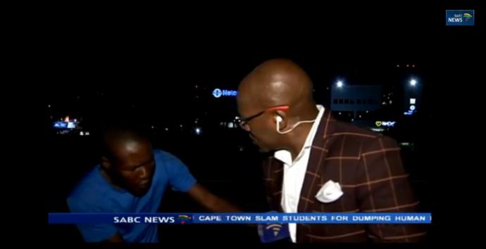 Repórter é assaltado em frente às câmeras no instante que entrava ao vivo