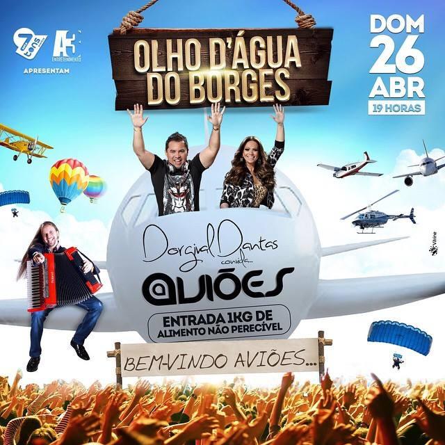 Aviões do Forró é atração confirmada em aniversário de Dorgival Dantas