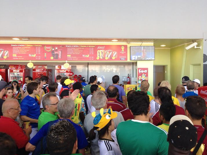 Procon Natal ameaça fechar bares e lanchonetes da Arena das Dunas
