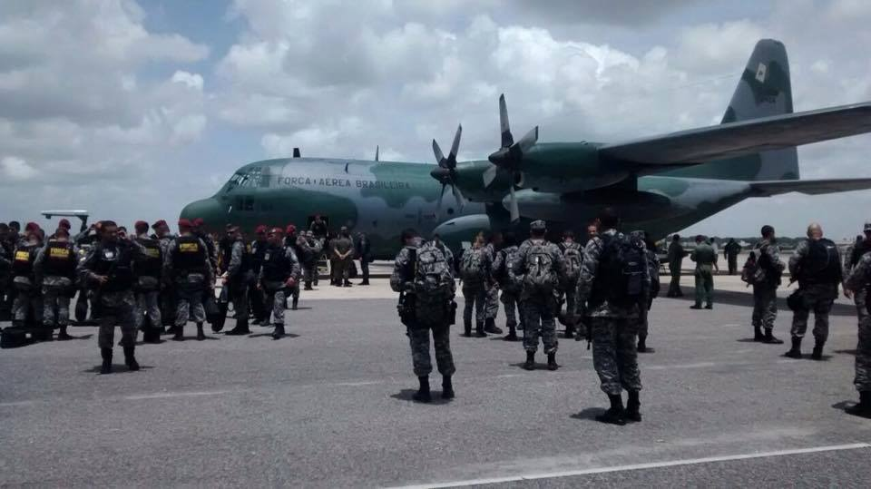 Sistema prisional do RN tem mais um dia de motim; presos são transferidos e Força Nacional desembarca no estado