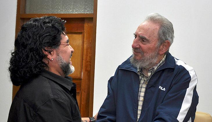 """Diego Maradona diz que """"Fidel Castro está mais vivo do que nós"""""""